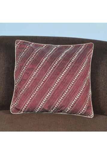 Cushion Cover - Diagonal Lines ( Set of Two )